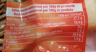 Queso Maasdam - Nutrition facts - es