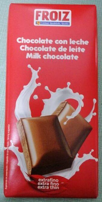 Chocolate con leche - Producte - es