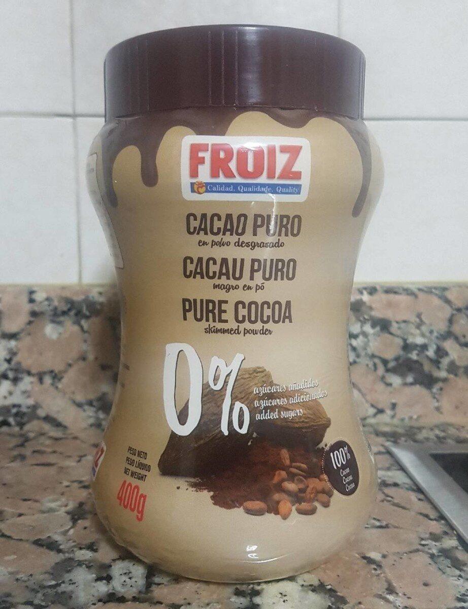 Cacao puro en polvo desgrasado 0% - Producto