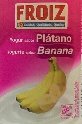 Yogur sabor Plátano - Product - es