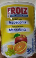 Yogur sabor macedonia - Producte