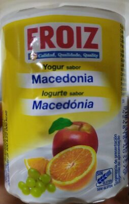 Yogur sabor macedonia - Producte