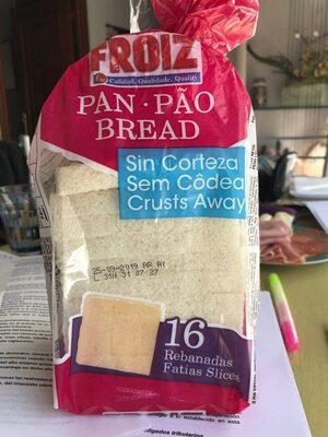 Pan de molde sin corteza - Product