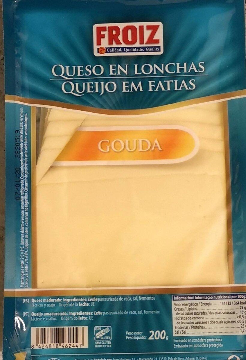 Queso gouda - Producte