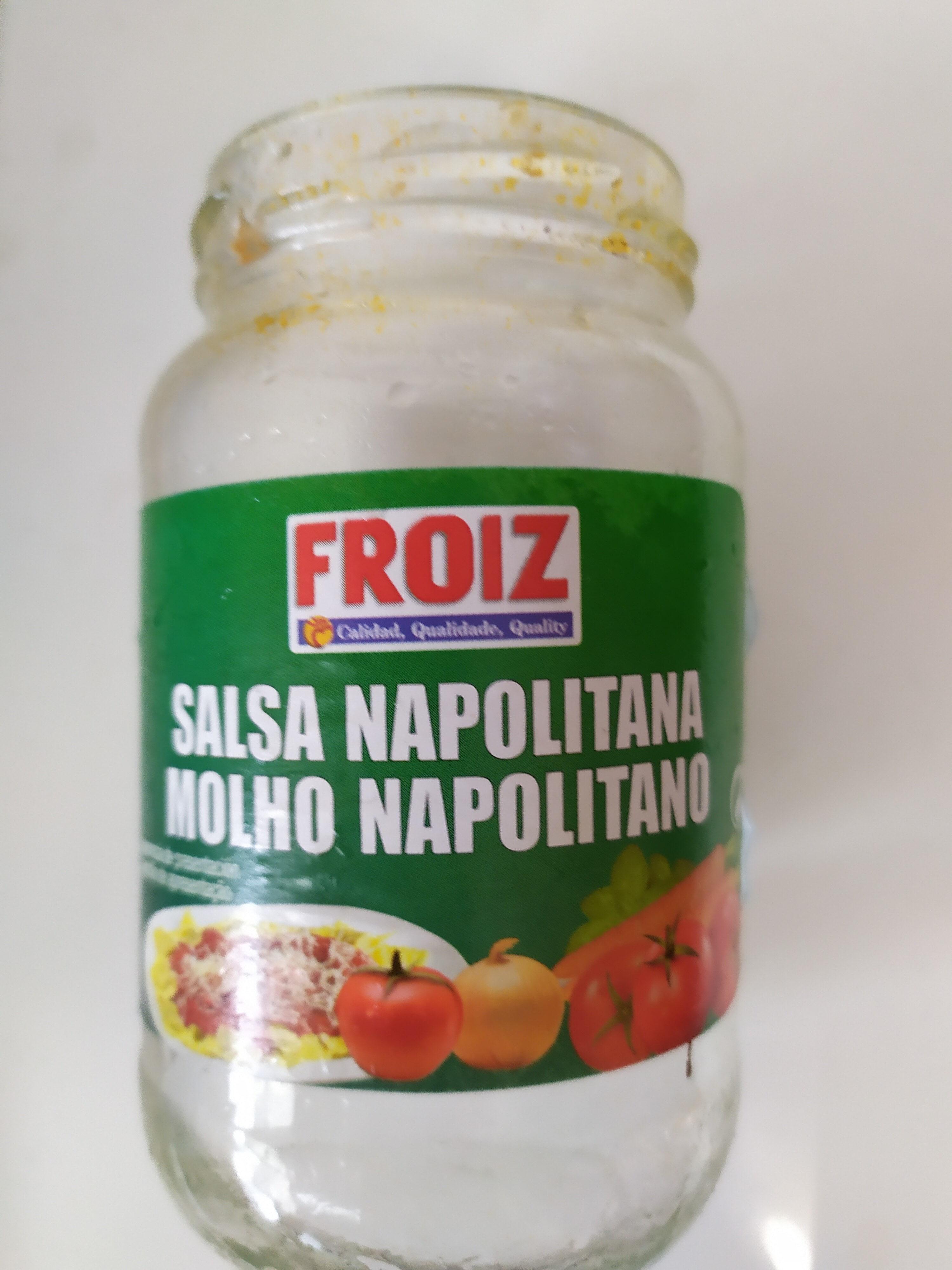 Salsa napolitana - Product