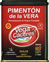 Pimentón dulce ahumado Origen La Vera - Producto