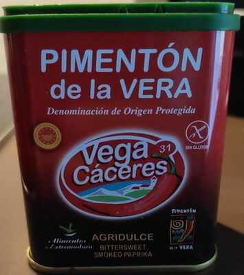 Pimentón de la Vera agridulce