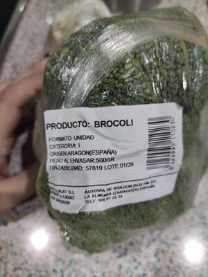Brócoli - Informació nutricional - es