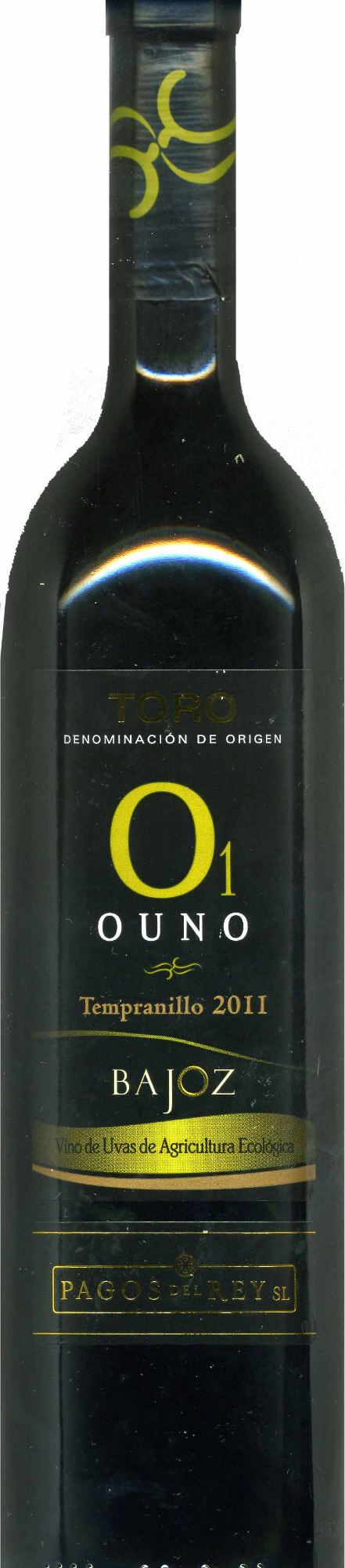 Vino tinto Ouno (01) 2011 - Produit