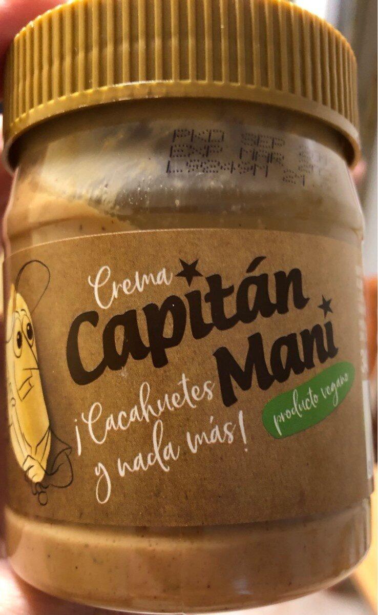 Crema Cacahuetes - Producto
