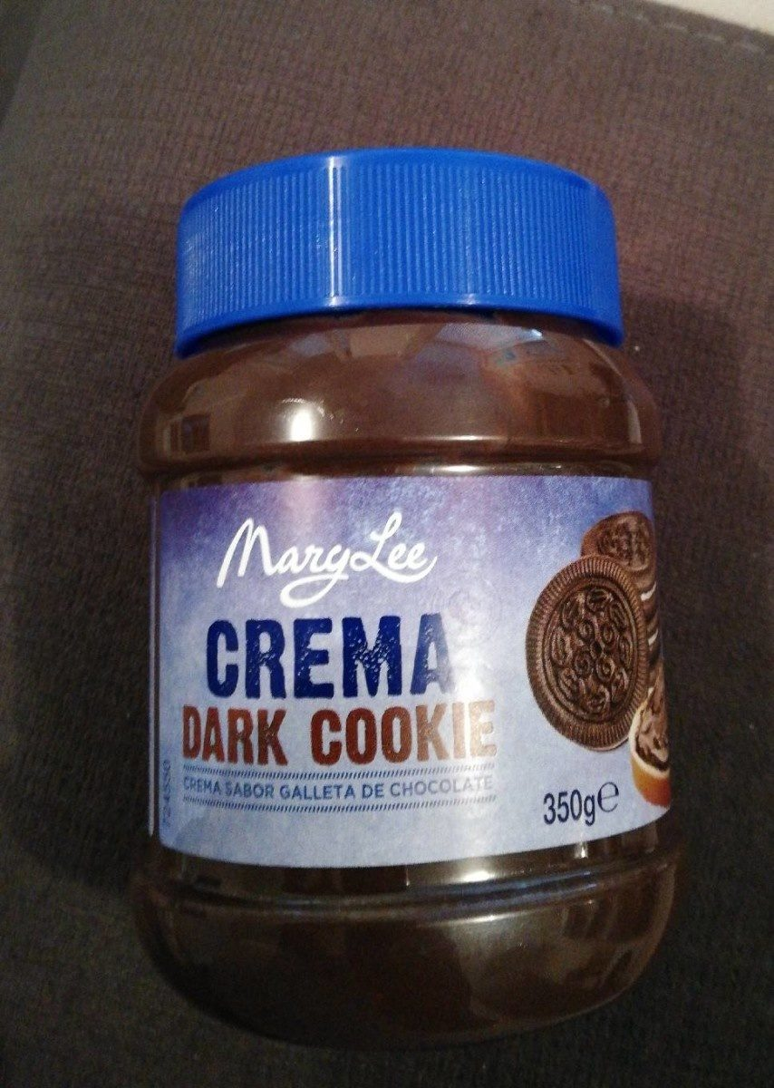 Crema Dark Cookie MaryLee - Producto