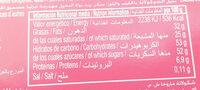 Maruja - Nutrition facts - en