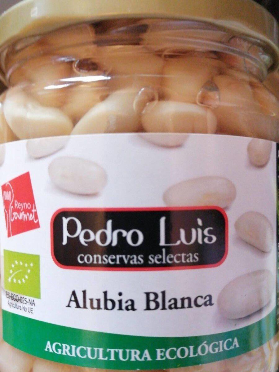 Alubia blanca - Producte