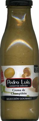 Crema de champiñones - Produit