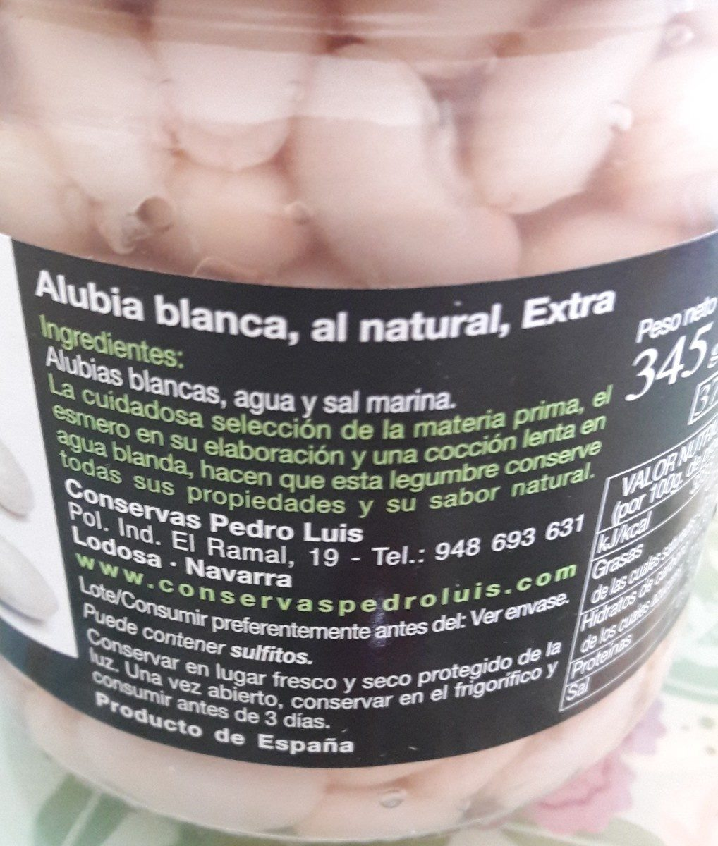 Flageolets blancs - Ingredients