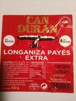 Longaniza payés extra - Product - es