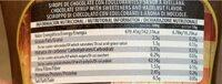 Bombón flup - Nutrition facts - fr
