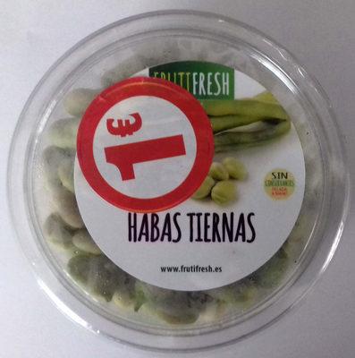 Habas tiernas - Produit - es