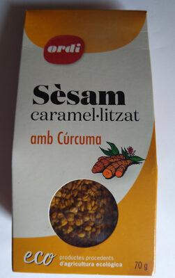 Sèsam caramel·litzat amb Cúrcuma - Producto - ca