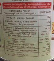 Sucrafor - Informations nutritionnelles - es