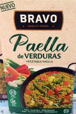 Paella de Verduras - Producto