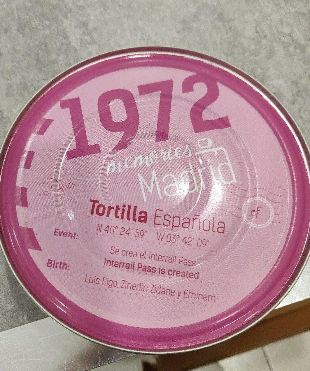 Tortilla española - Producto