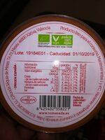 Tomasada - Informations nutritionnelles