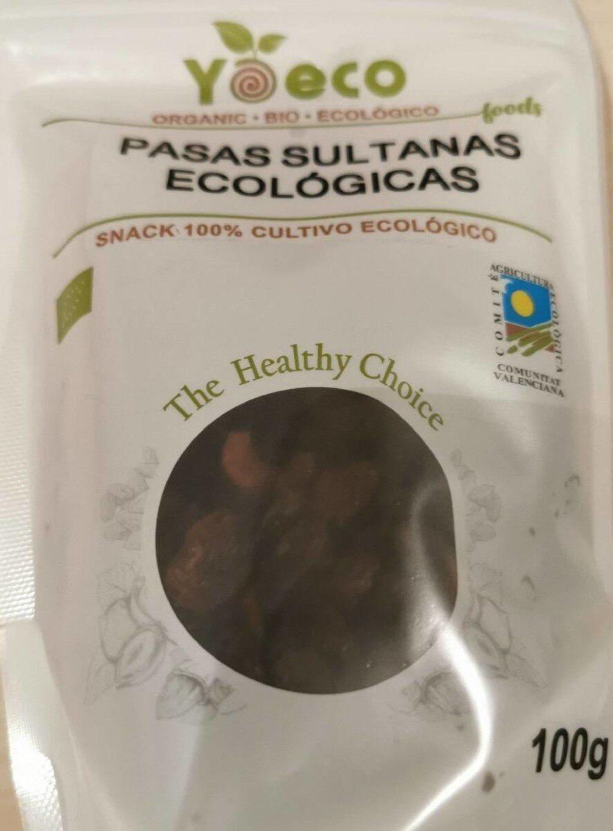 Pasas sultanas ecológicas - Produit - es