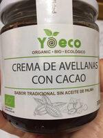 Crema de avellanas y cacao - Product