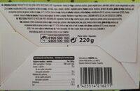 BERLINA CACAO - Información nutricional