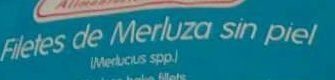 Filetea de merluza sin piel - Ingrediënten - es