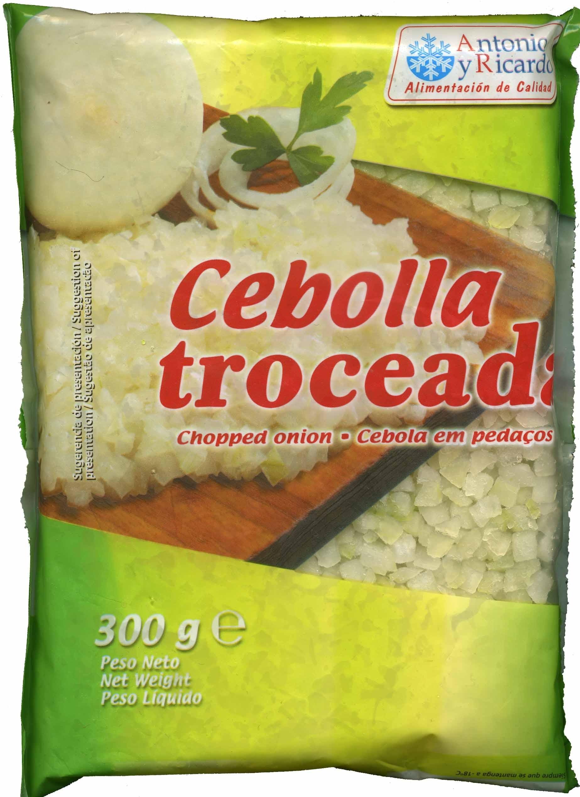 """Cebolla troceada congelada """"Antonio y Ricardo"""" - Producto - es"""