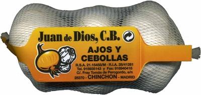 """Ajos """"Juan de Dios"""" Blanco - Producto"""