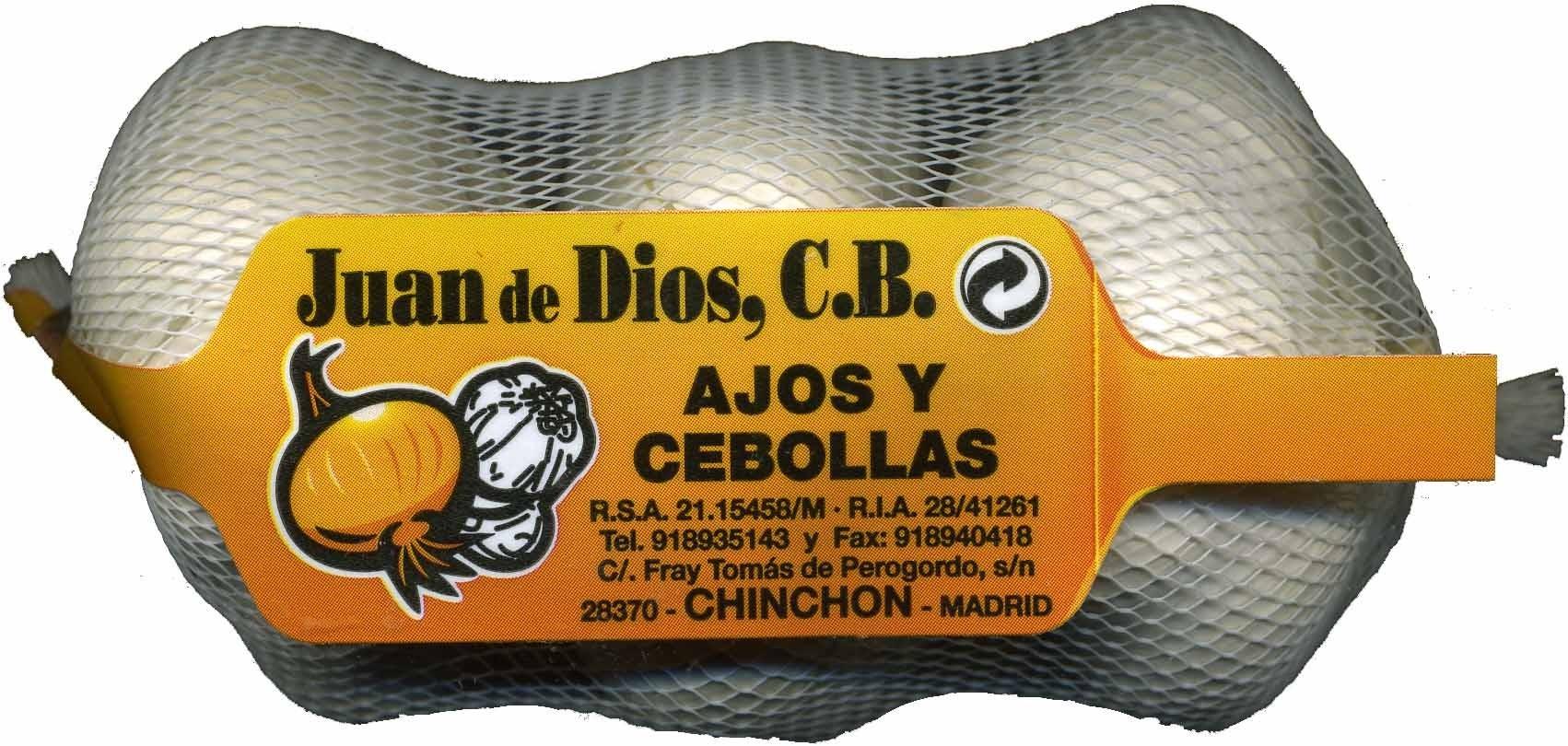 """Ajos """"Juan de Dios"""" Blanco - Producto - es"""