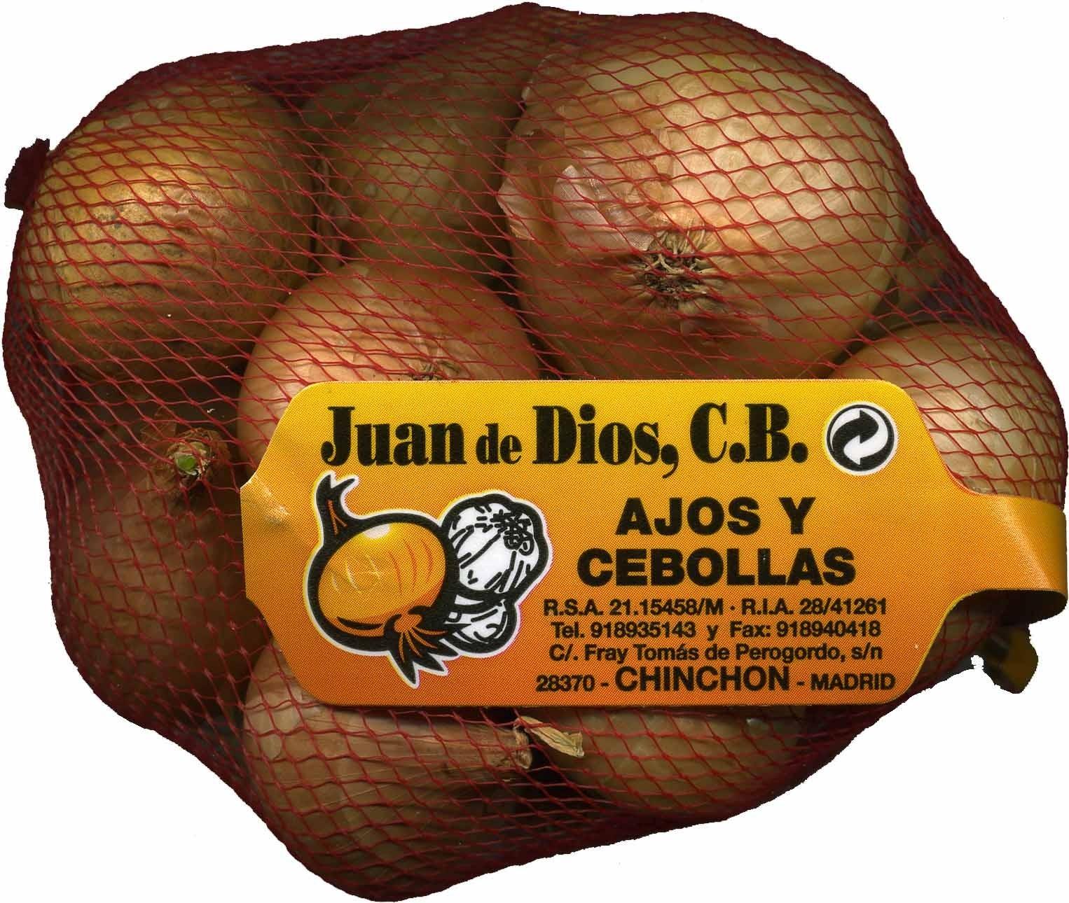 """Cebollas """"Juan de Dios"""" - Producte"""