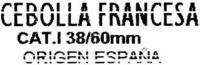 """Cebollas """"Juan de Dios"""" - Ingredients"""