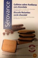 Biscuit noisettes - Product - fr
