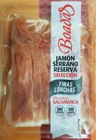 Jamón Serrano reserva selección - Product - es
