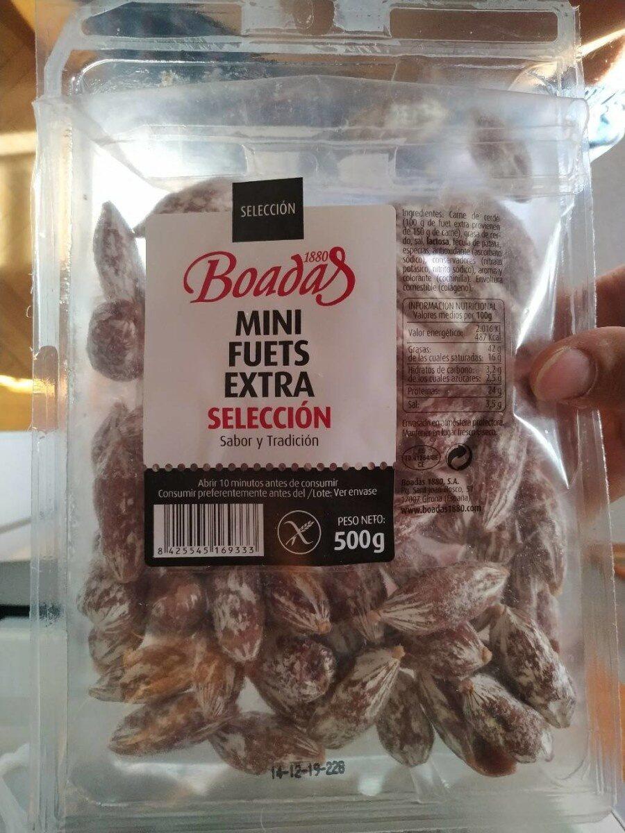 Mini Fuets Extra Selección - Ingredientes