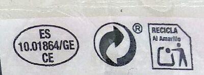 Salchichón de pavo - Instruction de recyclage et/ou informations d'emballage - es