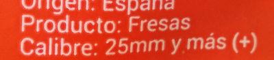 Fresón de Palos - Ingredientes