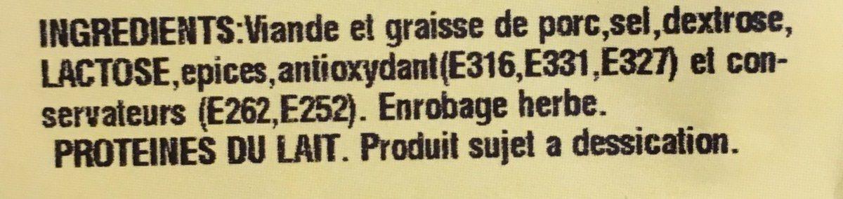 Fouet Catalan Paysan Fines Herbes - Ingredients - fr
