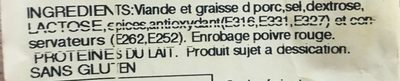 Fouet extra - Ingredients - fr