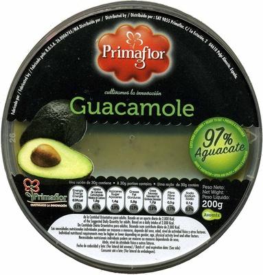 "Guacamole fresco ""Primaflor"" - Producto"