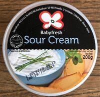 Salsa Sour Cream Babyfresh - Produit