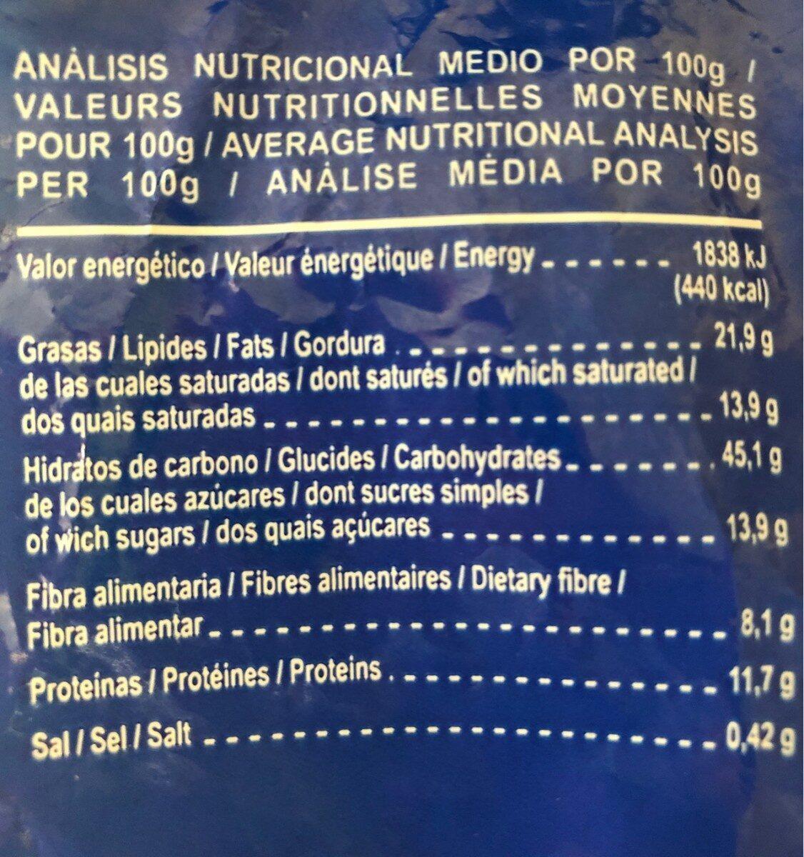 Dietary Cookies Bran - Informations nutritionnelles