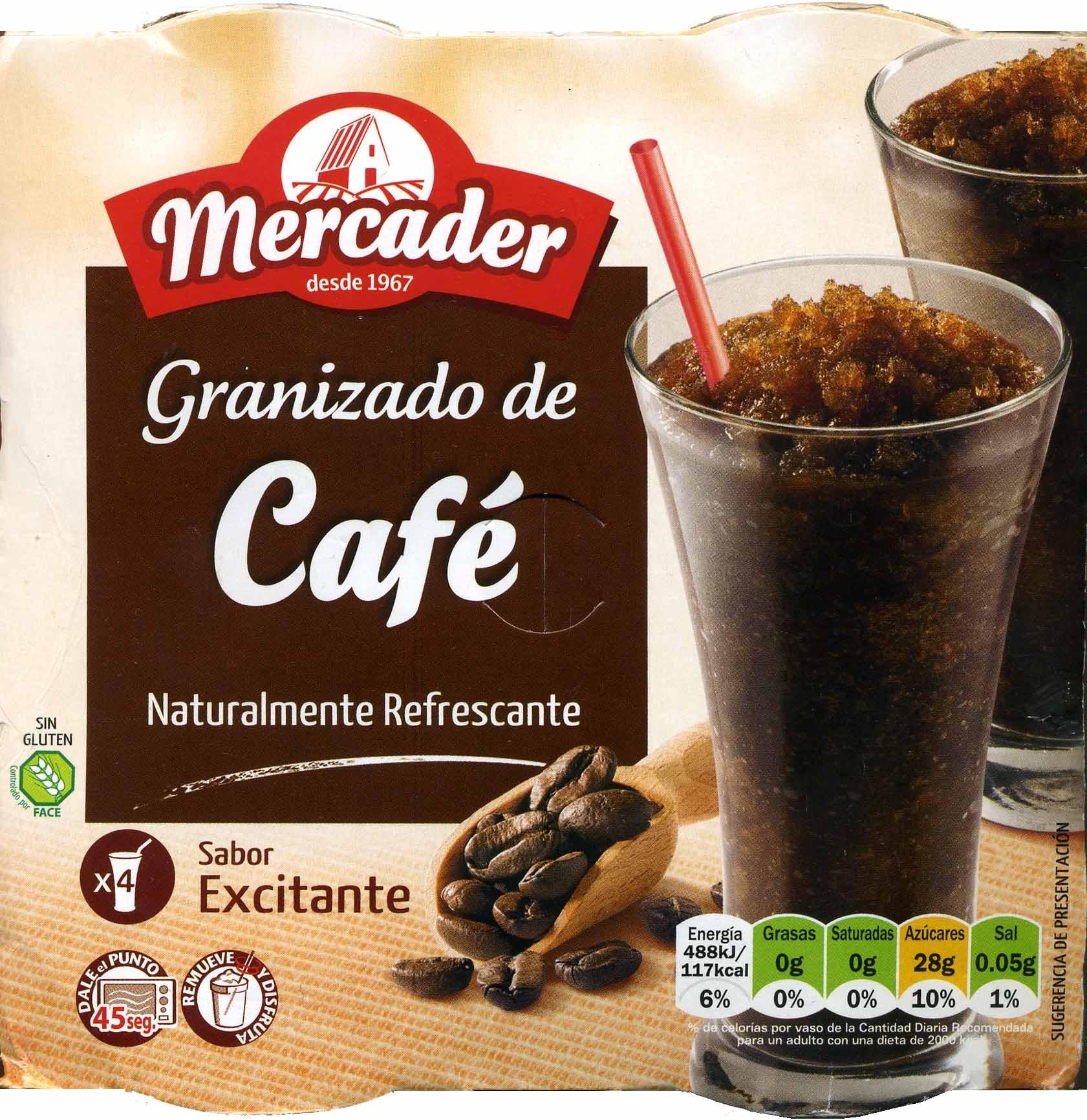 Granizado de café - Producte - es
