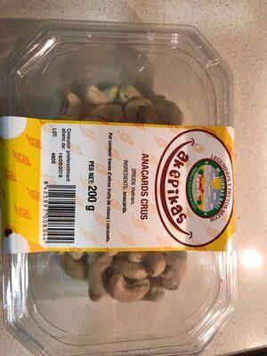 Anacardos crudos akepikas - Producte - es