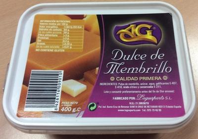 Dulce de membrillo - Producte