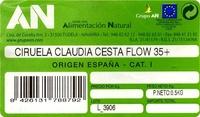 Ciruelas Claudia - Ingredientes